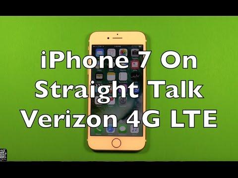 iPhone 7 On Straight Talk Verizon 4G LTE $45 Unlimited