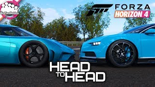 FORZA HORIZON 4 - HEAD to HEAD : Megacar Showdown - Forza Horizon 4 MULTIPLAYER