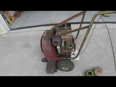 Clean carb & get spark to 8hp Briggs on Giant Vac blower