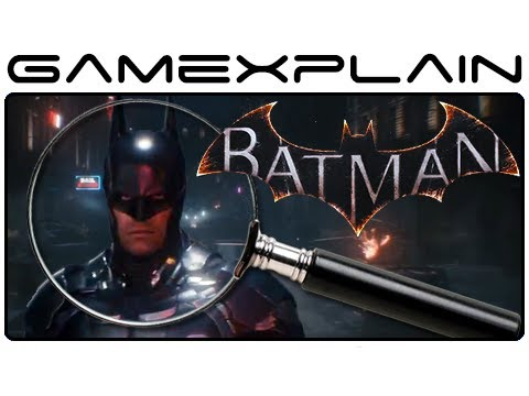Batman: Arkham Knight - Trailer Analysis (PC/PS4/Xbox ONE)