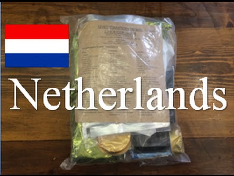 Netherlands 24 Hour Combat Ration ~2014~