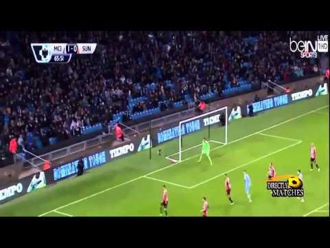 Обзор матча | Manchester City vs Sunderland 3:2 All Goals & Highlights 2015 mp4