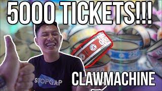 Ticket Claw Machine Huge Wins! - Arcade Ninja @lewloh