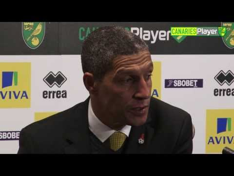 Norwich City 1-1 Swansea: Chris Hughton Press Conference