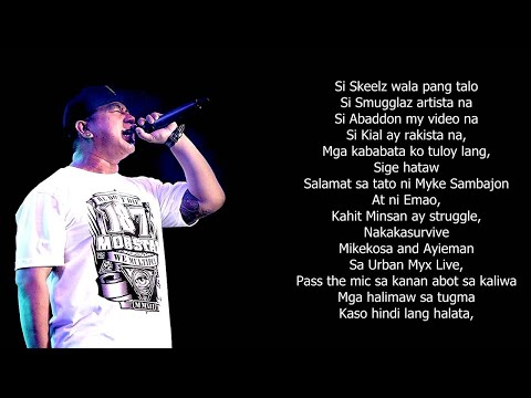Mikekosa - Kinakamusta Ko Kayo (with Lyrics) video