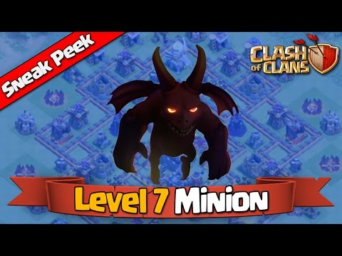 Clash of Clans - MINIONS Level 7 + Boost Changes [Town Hall 11 Update]