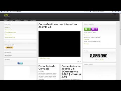 Gestor de descargas en Joomla 2.5