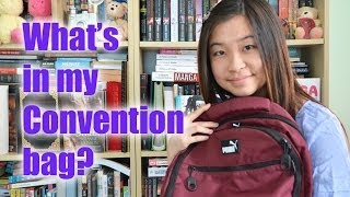 Whats in my Anime Convention Bag