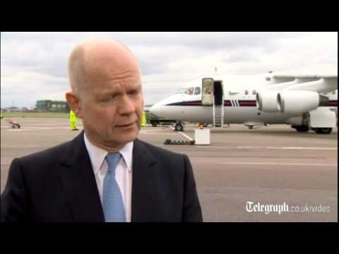 Hague: UK will suspend G8 involvement over Ukraine crisis