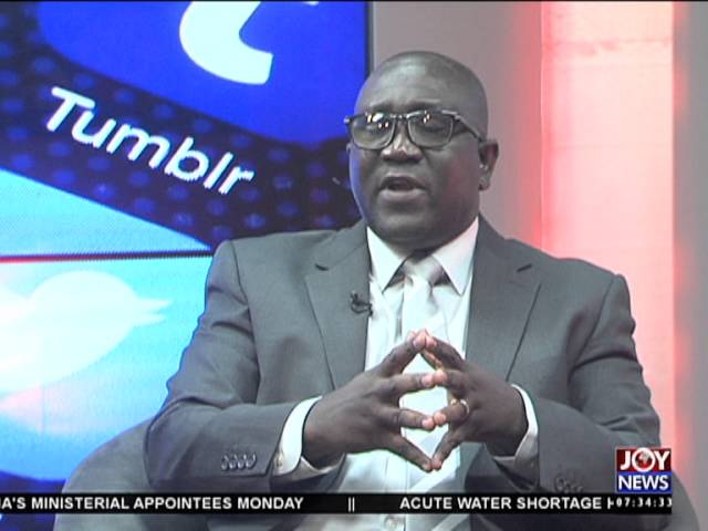 Social media monitoring - My Banner on Joy News (8-2-16)