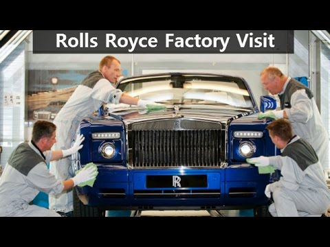 Rolls Royce Factory Visit | EXCLUSIVE | Top Speed