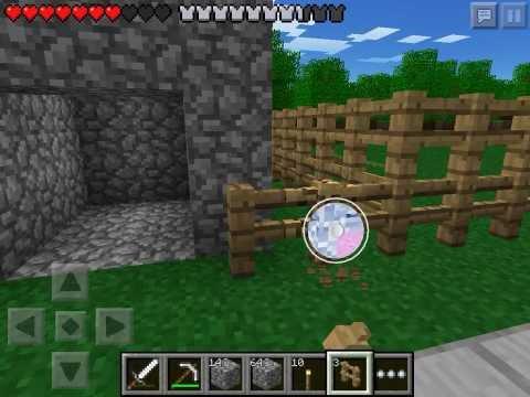 Let's play Minecraft Pocket Edition #18 - Строим ферму лута #1