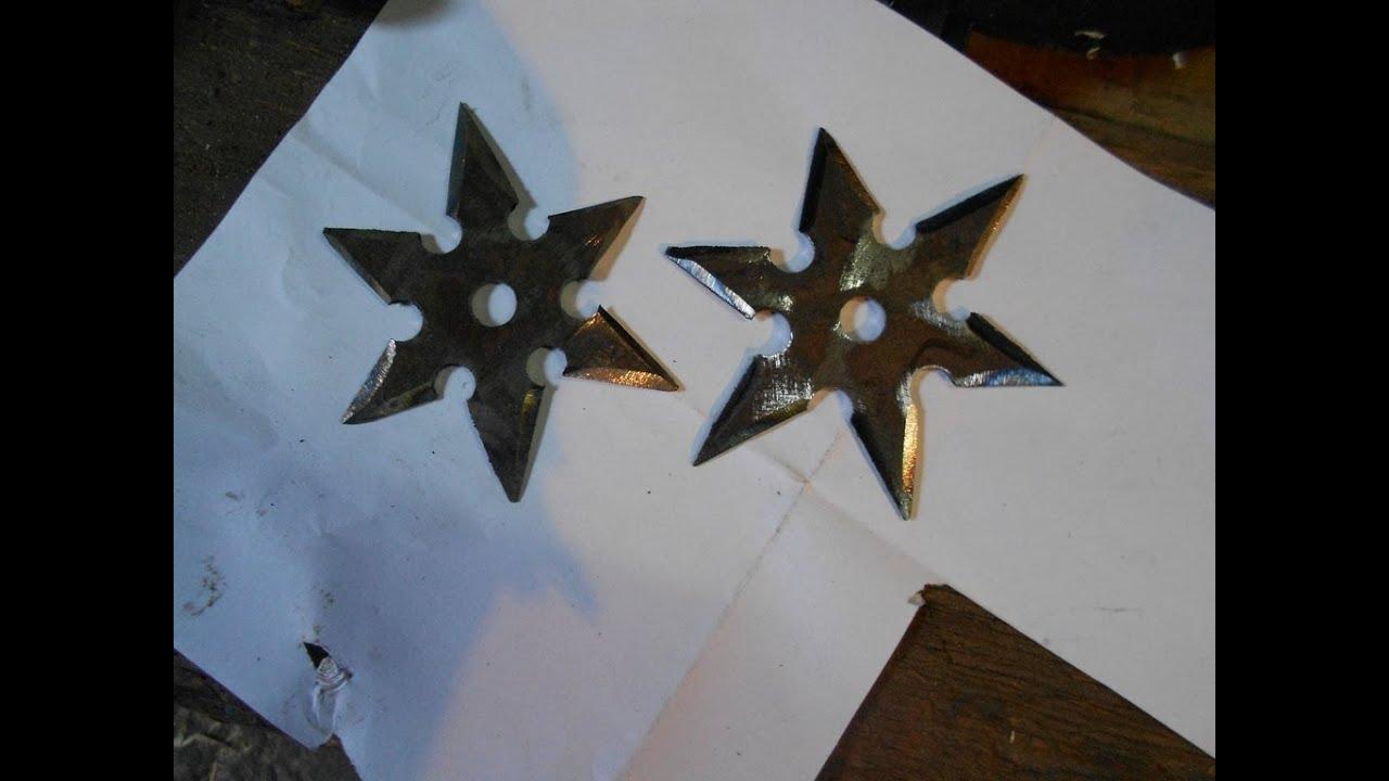 Метательные звёзды своими руками 71