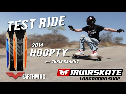 Test Ride 2014 Earthwing Hoopty 34 with Chris Kearns | MuirSkate Longboard Shop