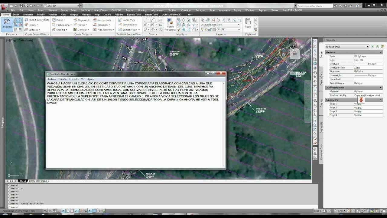 civil cad 3d tutorial pdf