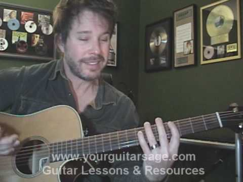Guitar Lessons - Overkill By Men At Work & Colin Hay - Cover Chords Beginners Acoustic Songs video