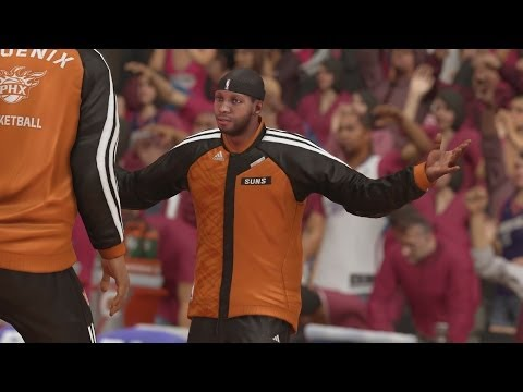 NBA 2K14 PS4 My Career Playoffs QFG4 - Block Party