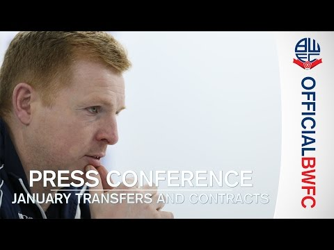 PRESS CONFERENCE | Neil Lennon on the January transfer window signings