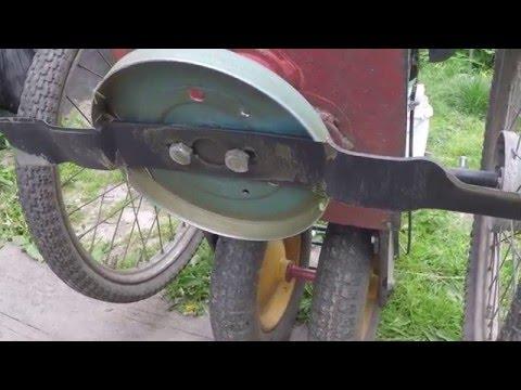 Адаптер ножа газонокосилки своими руками на tubethe.com