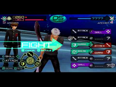 Fate/extra Ccc Archer vs