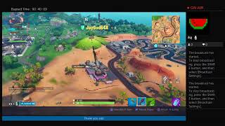 Fortnite playing duos trying to find the tac AR