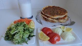 Lahmacun Tarifi | Lahmacun Nasıl Yapılır | Türkisch Pizza | Benim Mutfağım