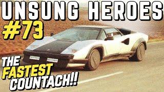 UNSUNG HEROES #73 - The Lamborghini Countach Evoluzione