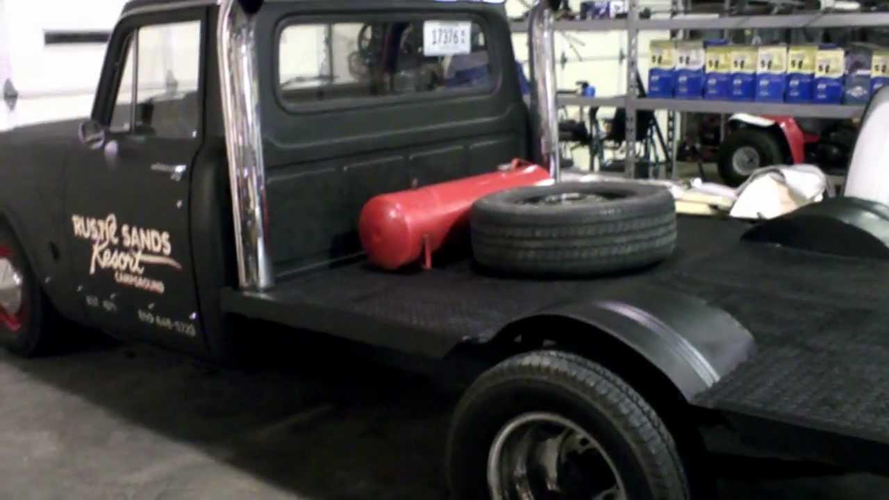 International Flatbed Rat Rod Truck Youtube