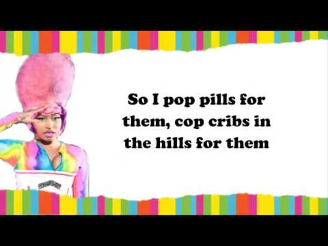 Nicki Minaj - pills n potions lyrics