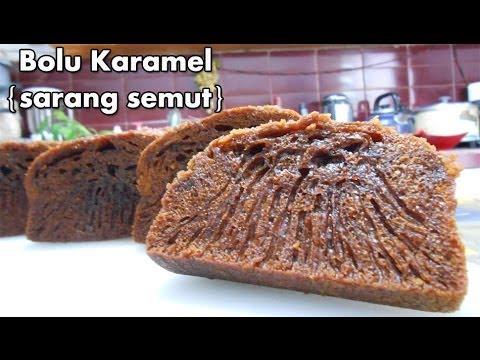 Bolu Karamel Resep Cake Bolu Karamel Sarang Semut Caramel Cake Recipe