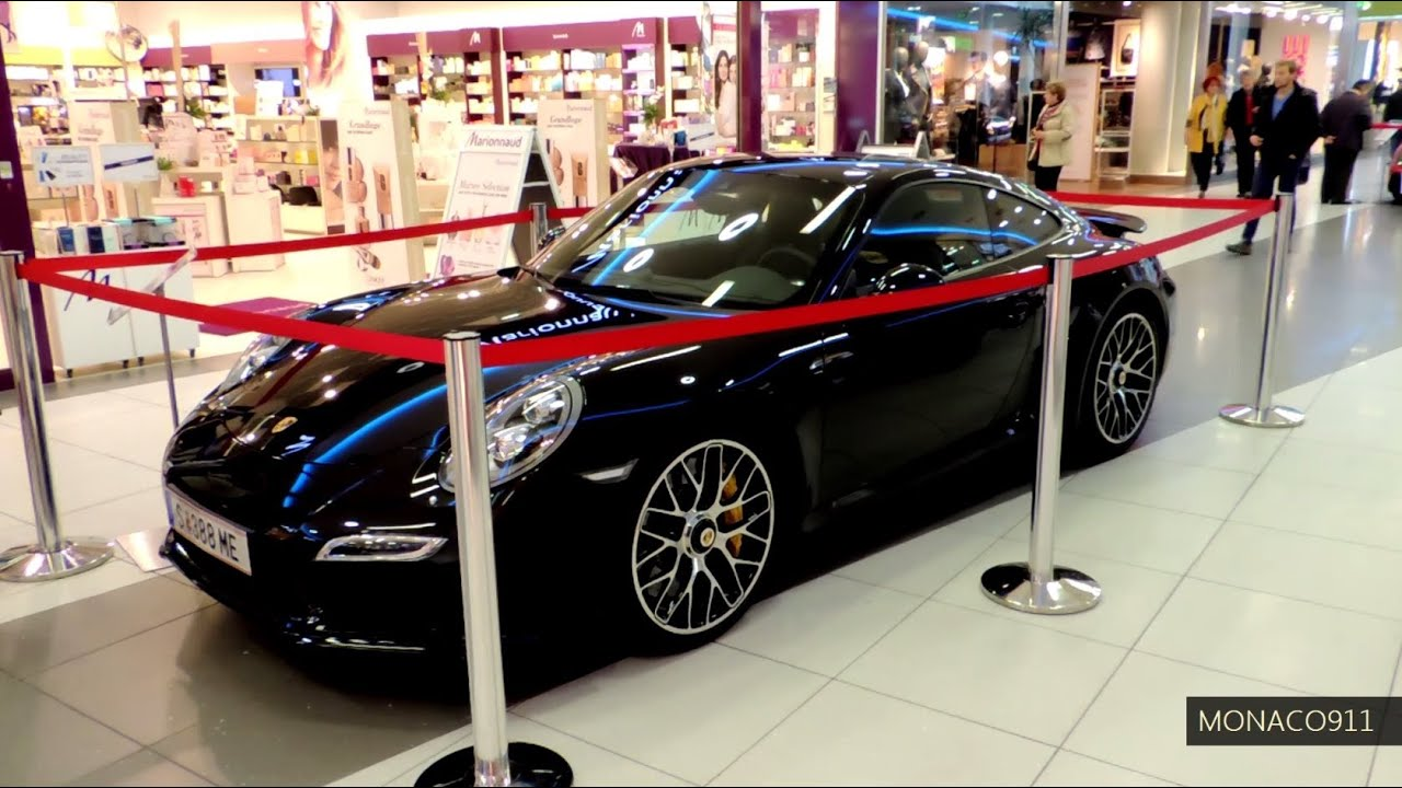 New 2014 Porsche 911 991 Turbo S Black Youtube