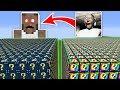 KORKUNÇ BÜYÜKANNE VS ŞANS BLOKLARI - Minecraft