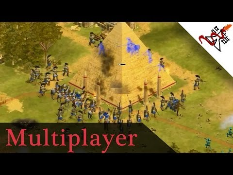 Rise of Nations Extended Edition - 4 Players FFA Muliplayer Gameplay Deathmatch [1080p/HD]