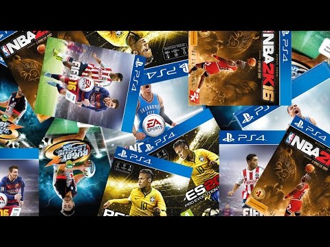TOP 10 Upcoming PS4 Sport Games 2015/2016