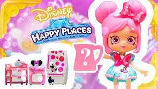 Shopkins Limited Edition Found! Disney Happy Places Minnie Mouse Play Set Toy Play Blind Bag SPK