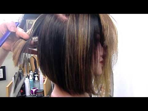 how to cut layers ponytail method