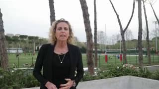 """Alessandra Sensini al Seminario """"L'Attività Giovanile e la Formazione degli Allenatori"""""""