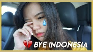 Cried When I Left! USA Vlog 1 (Indo Subs)