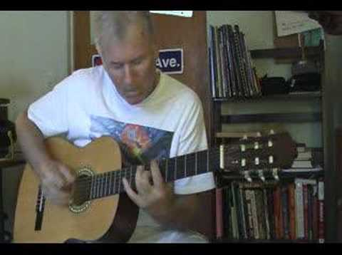 Richy Kicklighter: Playing his original song,  'See Ya', from the Early Morning Rain CD
