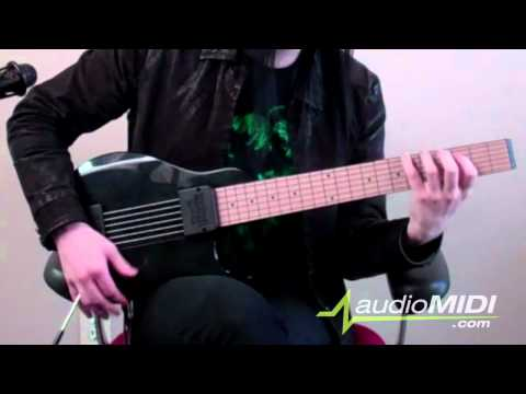 You Rock Guitar, MIDI Controller | audioMIDI.com Demo
