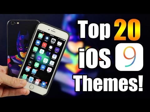 Top 20 Best iOS 9 Themes!