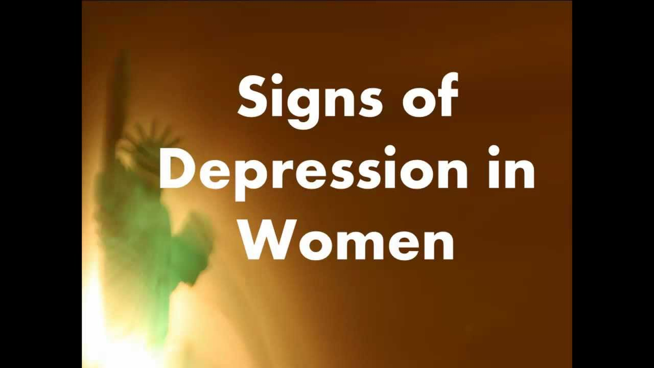 depression in women Types of depression antenatal and postnatal depression women are at an increased risk of depression during pregnancy (known as the antenatal or prenatal period.