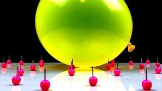 iPhone Xs Slow Motion Balloons Burst.