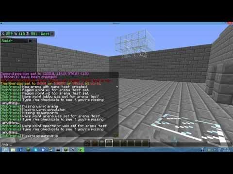 How To Add, Set Up, And Config Mob Arena [Minecraft 1.7.9+]