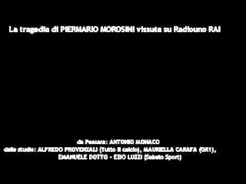 La tragedia di Piermario Morosini vissuta su Radiouno Rai