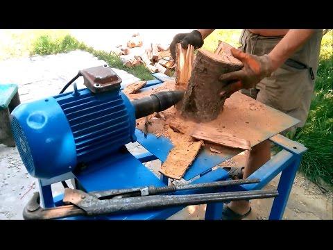 Как изготовить дровокол своими руками