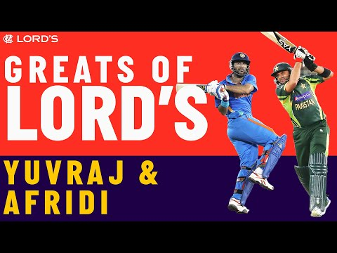 Yuvraj Singh vs Shahid Afridi | Who's The Greatest?
