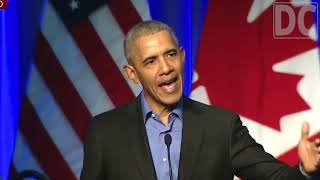 President Obama Brags About Economic Growth Under Trump