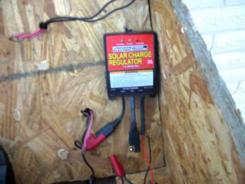 HOMEMADE DIY SOLAR PANEL WIND TURBINE GENERATOR GRID TIE INVERTER TEST 1