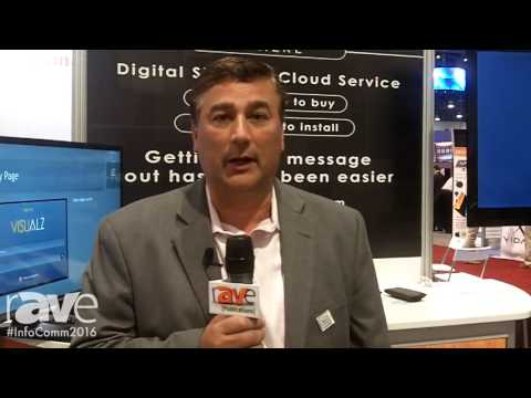 InfoComm 2016: D60 Introduces Cloud Based Solution Visualz